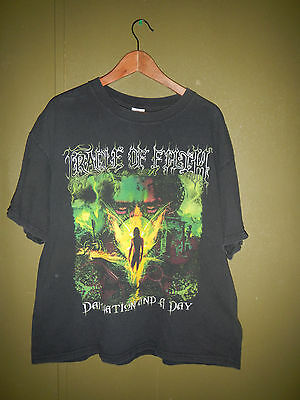 PRE OWNED Cradle of Filth Damnation and a Day Shirt Size XL