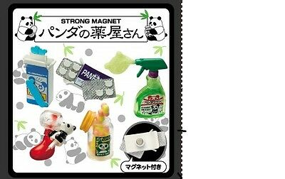 Re-Ment Puchi Magnets Panda Drug Store NEW