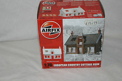 A75004 Airfix 1:76 European Country Cottage Ruin resin model