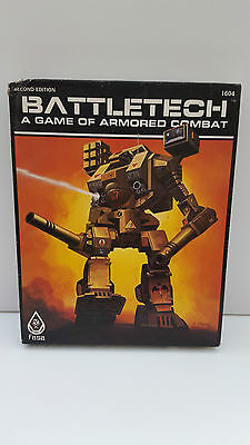 1980's Fasa Battletech 1604 Role Playing Game - 2Nd Edition! Complete