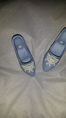 Wedgwood Miniature Blue Shoes