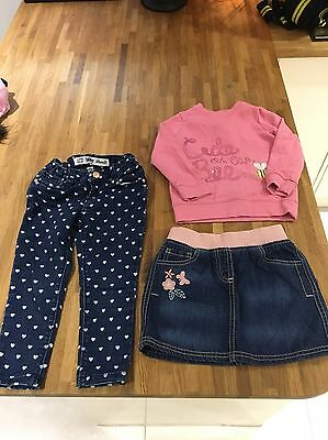 Girls Bundle Of Clothes Age 3-4 Next, M&S, F&F, Primark, Next