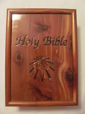 Holy Bible Dove Of Peace King James Version Memorial Remembrance Box Edition