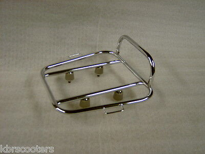 Cuppini Chrome Rear Sprint Rack Fits Lambretta  Series 3,sx,gp,tv,special