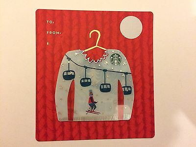 Christmas Pullover Starbucks Cards Set Of 3 From USA. New And Unused.