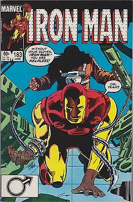 Iron Man #183 Marvel 1984 All The Kinds Of Fear