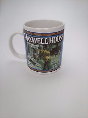 Vintage Maxwell House Advertising Coffee Cup