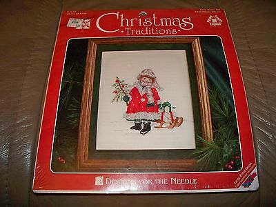 NIP!  CHOOSE 1 FROM 4 Different CHRISTMAS  Counted Cross Stitch Kits