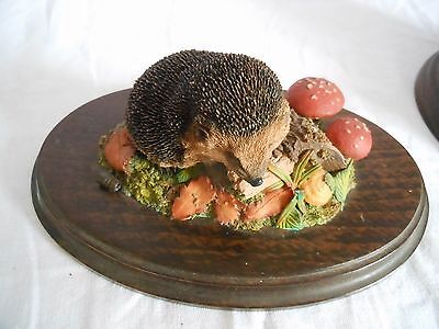 Country Artists Hedgehog (CA495) Hand Crafted England ~ Year 1993 FREE POSTAGE