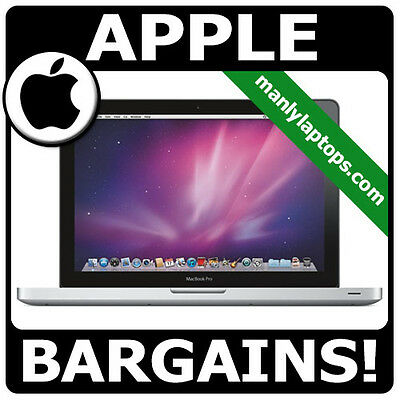 GRADE A - APPLE MACBOOK PRO A1278 i7 3.4GHZ 8GB 500GB SUPER FAST LAPTOP