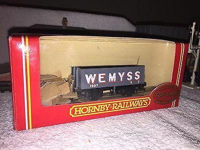 Hornby R.6047 7 plank wagon / truck 'WEMYSS' EXCELLENT BOXED
