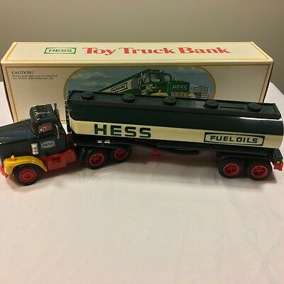 1984 Hess Gas Toy Truck Bank