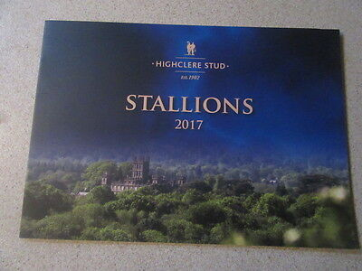 Highclere Stud Stallion Brochure 2017 Cable Bay Paco Boy