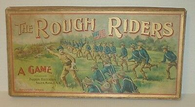 The Rough Riders A Game Teddy Roosevelt Circa 1900 vtg Parker Brothers