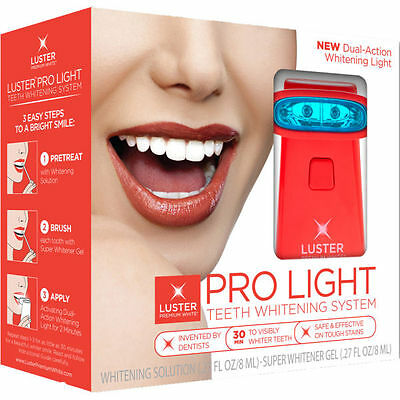 LUSTER Pro Light Teeth Whitening System (missing solution) RRP £50 #9615