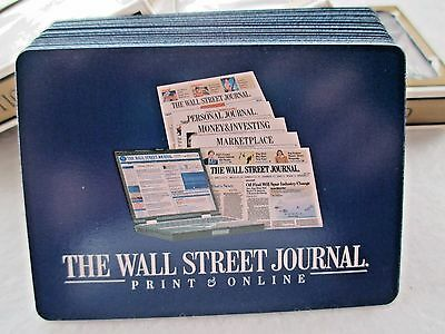 Lot of Three (3) Wall Street Journal Playing Cards Complete Decks Never Used
