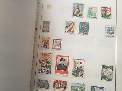 Asia stamp collection on album pages with excellent Japan, good Malaysia etc