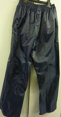 BNWOT ProClimate Men's Waterproof Cycling Hiking Over Trousers Size Medium (M)
