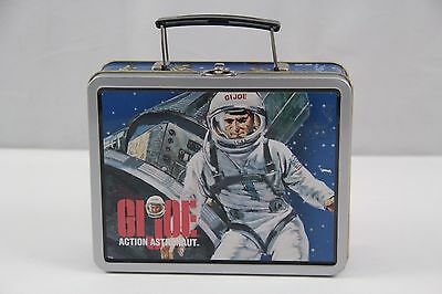 GI Joe Action Astronaut Vintage / Retro Lunch Box Pail Lunchbox 1998 Hasbro