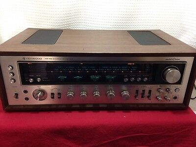 Kenwood AM-FM stereo receiver model Eleven (11) Tested and WORKING