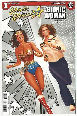 Wonder Woman 77 & The Bionic Woman 1:15 Alex Ross Variant Cover