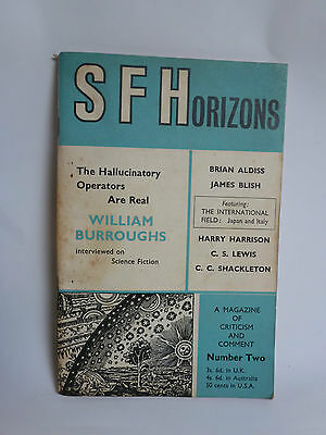William Burroughs interview in S.F. Horizons No 2 (1965)