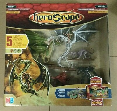 Heroscape Orm's Return Expansion Set MB Games Hasbro Hero Scape Heroes Of Laur