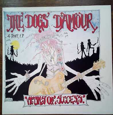 """Dogs D'amour Rare 12"""" Victims Of Success New Unplayed"""