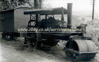 Aveling & Porter 10670 Steam Roller, Steam Traction Engine Photograph