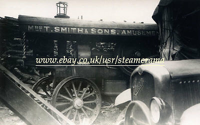 Fowler 9456 Showmans Engine, Steam Traction Engine Photograph