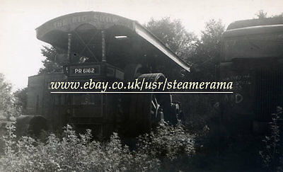 Burrell 4038 Showmans Engine, Steam Traction Engine Photograph