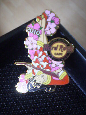 Hard Rock Cafe Pin Badge Cherryblossom New York Limited Edition.