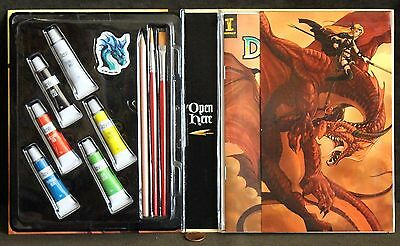 Impact, DRAGONART - How To Draw & Paint Fantastic Creatures Kit, ART Projects