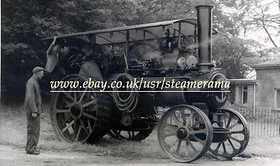 Fowler 14751 Traction Engine, Steam Traction Engine Photograph