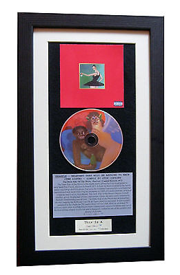 KANYE WEST Beautiful Twisted CLASSIC CD Album QUALITY FRAMED+EXPRESS GLOBAL SHIP