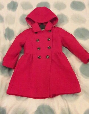 Red winter coat age 3-4yrs