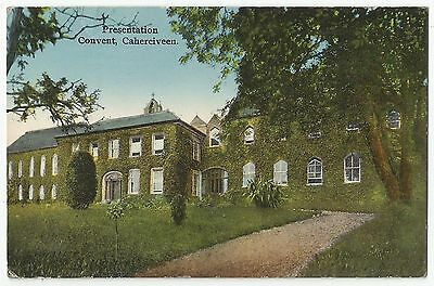 Old Postcard 'Presentation Convent' Caherciveen Co Kerry