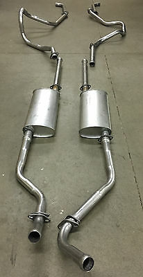 1957 Buick Special & Century Dual Exhaust System, Aluminized Without Resonators