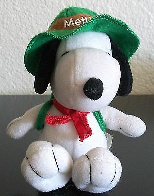 Peanuts ~ SNOOPY MetLife Boy Scout, Charlie Brown's Beagle, Stuffed Plush ~ DOLL