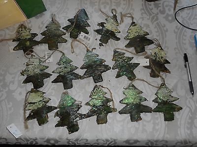 15 Christmas Tree Ornaments New Rustic Looking