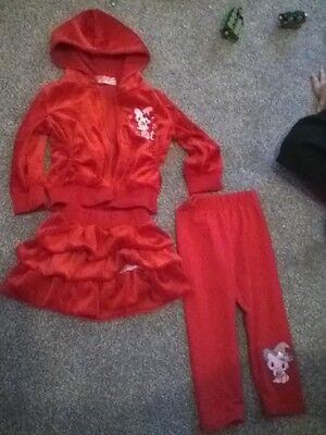 girls skirt and jacket and leggings set soft  winter