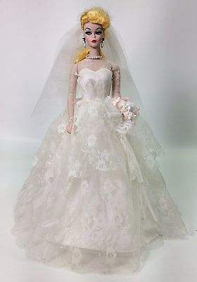 Porcelain Barbie Wedding Party Used