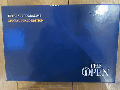 THE OPEN GOLF 2015  OFFICIAL PROGRAMME  ST ANDREWS Special Boxed Edition
