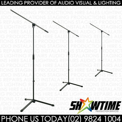 K&M Professional Microphone Stand x3 Pack