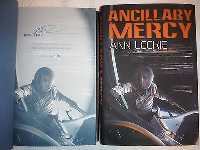 ***SIGNED LTD ED*** Ancillary Mercy by Ann Leckie (Ancillary Justice) NEW
