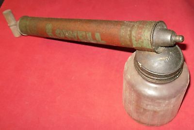 "Vintage Lowell Bug Sprayer, Large, 17"", Sprayer, w/20 Ounce Jar, Collectable"