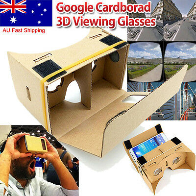 Google Carboard VR Kit with NFC, Lens, Magnets & Headstrap Virtual Reality
