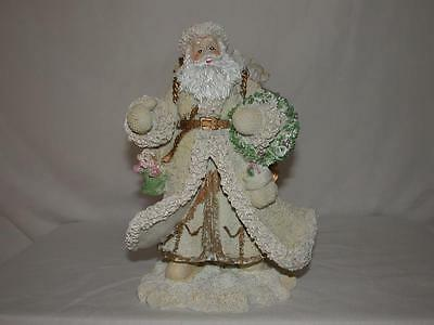 Lightweight Resin Victorian Christmas Santa Clause Figurine