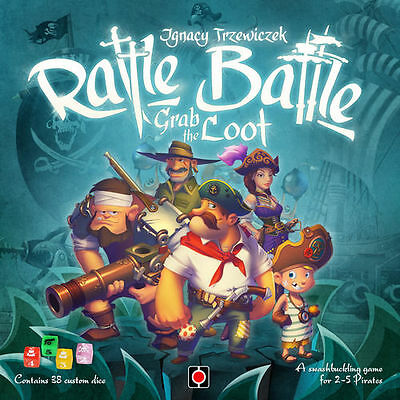 Rattle, Battle, Grab the Loot  Juego de mesa Sin destroquelar