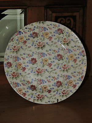 CHURCHILL England Pretty Floral Print  Bread & Butter Plate ( Shabby ) #2